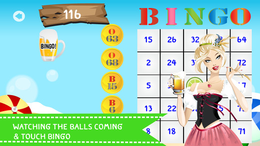 Ace of Beach Party - Cocktail Lovers BINGO PRO