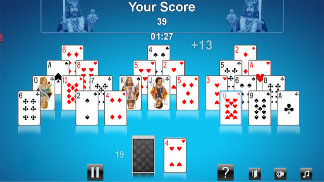 New Solitaire Pyramid Express Game
