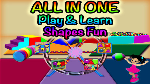 Basic Shapes Fun Preschool Learning Experience All In One Games Collection