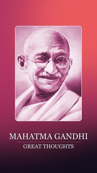 Mahatma Gandhi's Thoughts Lite