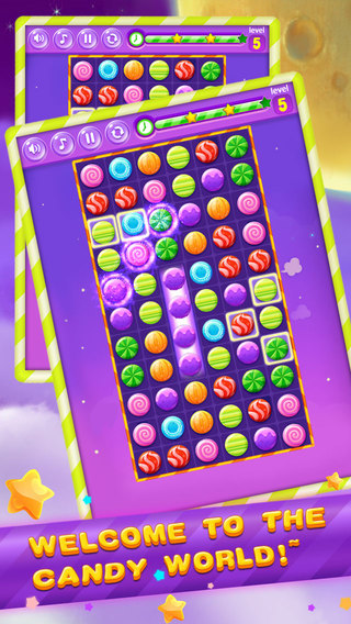 Candy heroes Game