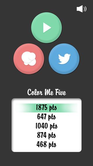 Color Me Five Free