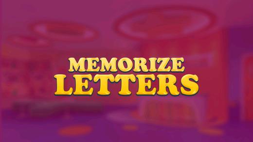 Memorize Letters