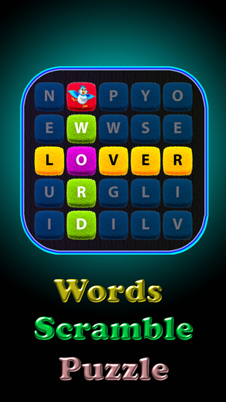 Words Scramble Puzzle : New classic word game - share with friends