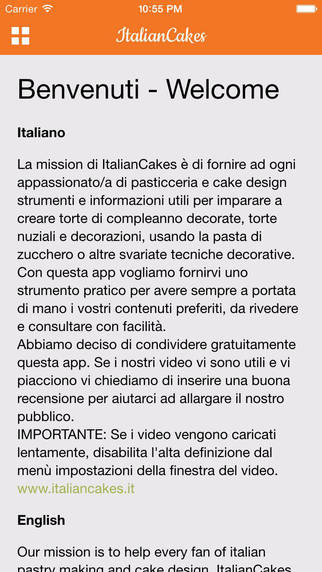 Cake design video tutorials and Italian pastry making