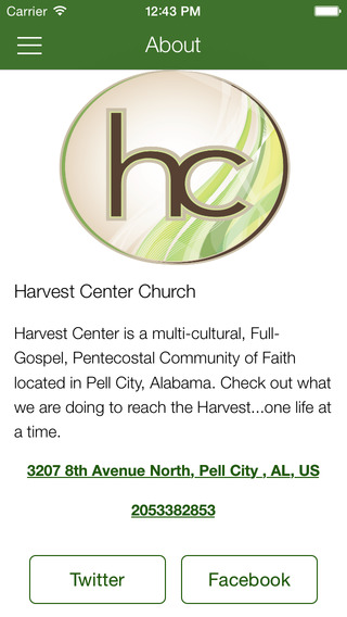 Harvest Center Church for iPhone
