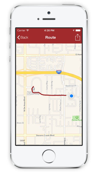 GPS Route Recorder Manager