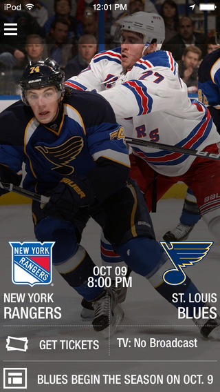 St.Louis Blues Official Mobile App