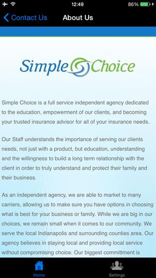 Simple Choice Insurance