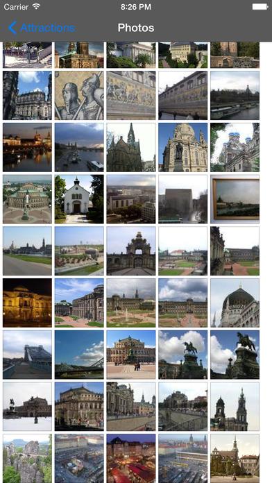 Dresden Travel Guide Offline iPhone Screenshot 1