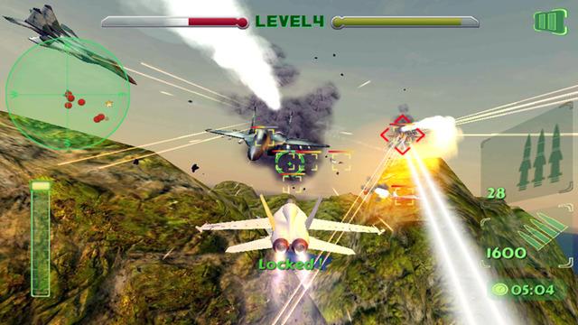 Air Navy Defending Jet Fighter