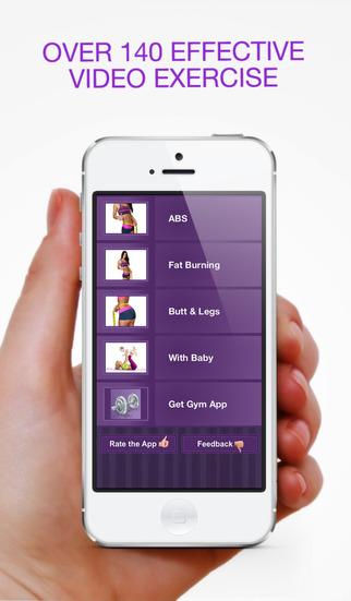 Women Home Fitness Lite – Ежедневные Упражнения Тела. Скриншоты5