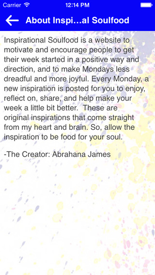 Inspirational Soulfood