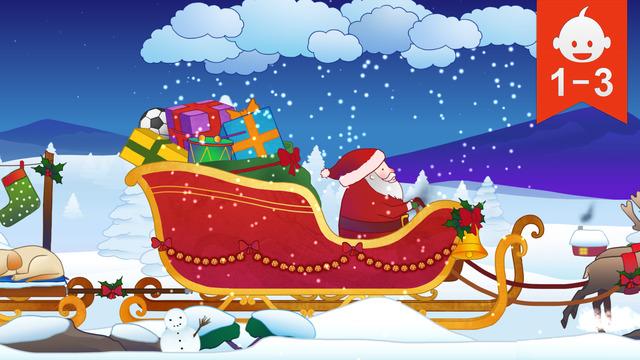 El trineo de Papá Noel en App Store