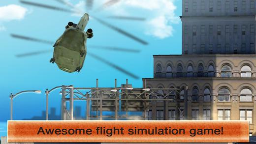 Air Tilt Rotor 3D: Land the Green Fat Heli