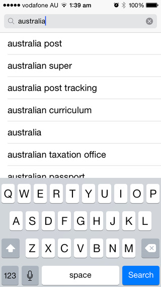 In-App Search