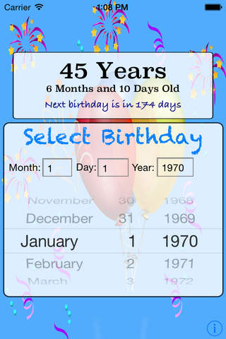 Whats My Age Calculator Pro screenshot 3
