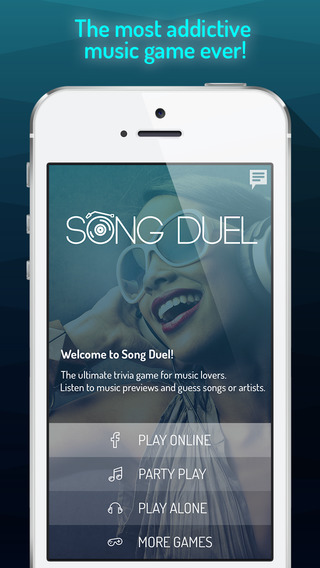 Song Duel - Guess the songs and artists Multiplayer music trivia game.