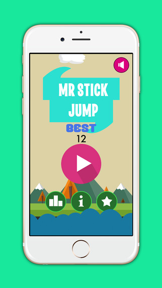 Stick Jump - Hero Dash Game
