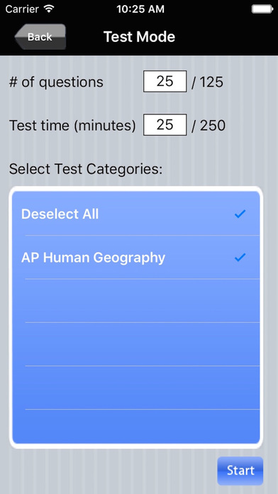 AP Human Geography iPhone Screenshot 4