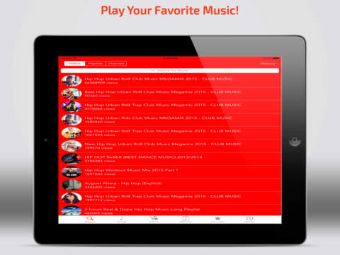 Muzitube - Free Music Tube Manager for YouTube Screenshots