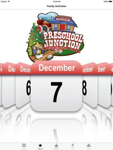 玩免費生活APP|下載SBC Preschool Christmas Advent app不用錢|硬是要APP