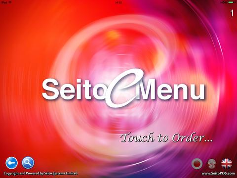 Seito eMenu for iPad