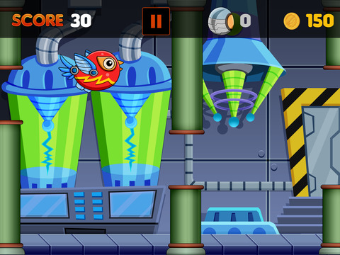 Flappy Robot Bird Screenshots