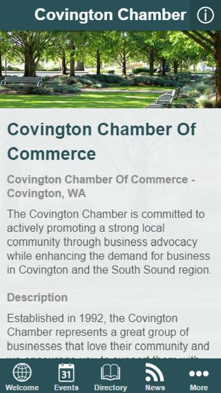 Covington Community App