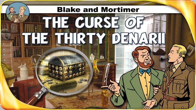 Blake and Mortimer - The Curse of the Thirty Denarii – A Hidden Object Adventure