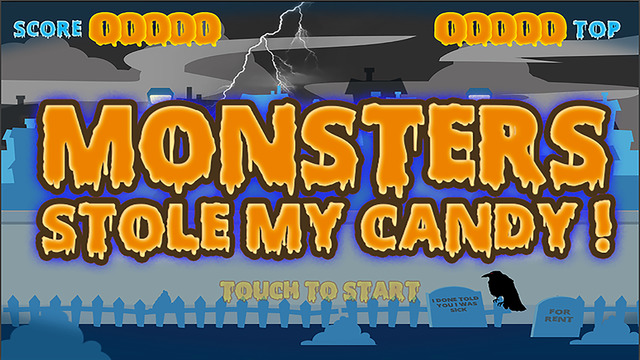 Monsters stole my candy