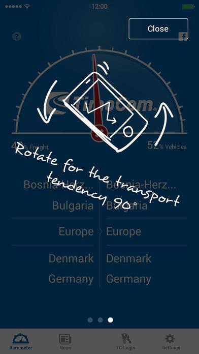 Transportbarometer Lite iPhone Screenshot 2