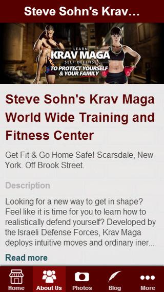 Steve Sohn's Krav Maga