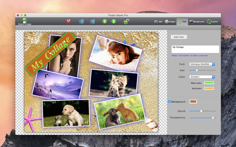 Poster Maker Pro Lite Screenshot - 1
