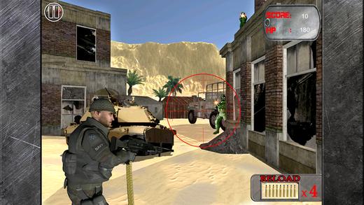 Army Desert War Shooter