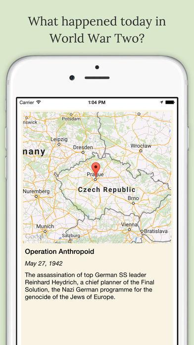 WW2 Daily iPhone Screenshot 1