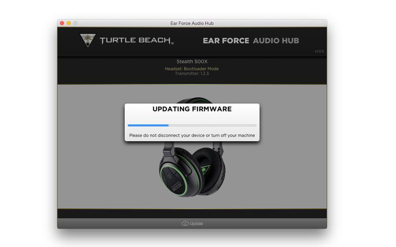 Turtle Beach Elite  Firmware Version