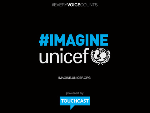 UNICEF IMAGINE Studio: Sing-along with John Lennon's Imagine powered by TouchCast