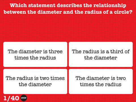 5th Grade Math Testing Prep iPad Screenshot 1