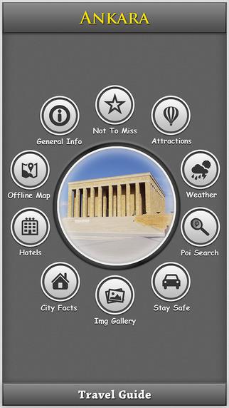 Ankara City Travel Explorer