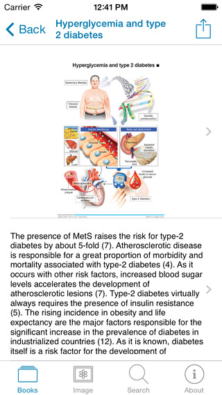 Metabolic syndrome iPhone Screenshot 5