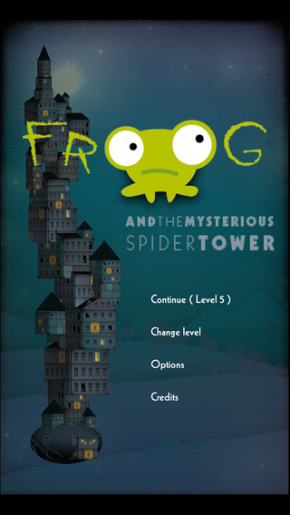 Froog and the spider tower