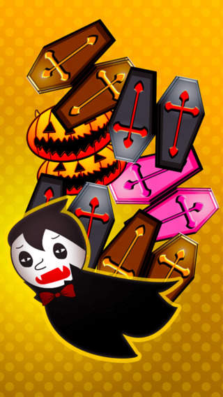 Young Dracula Prince Vlad : Highest Height Cross Casket and Pumpkin
