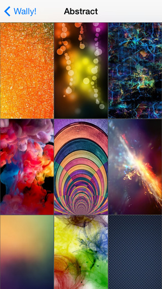 Wally - Custom Themes Background Pics and Abstract Wallpapers for your iPhone iPad and iPod Touch