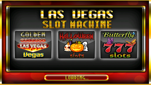 Golden Vegas Slot Machine