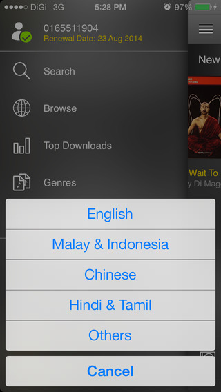 DiGiMusic iPhone Screenshot 5