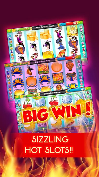 Screenshot 1 Sizzling Hot Casino — Лучшее мобильное казино в России! Play real slot machine games online!