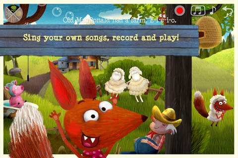 Screenshot 2 Little Fox Music Box – Kids songs – Sing along