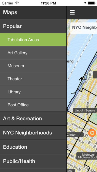 NYC Mapped