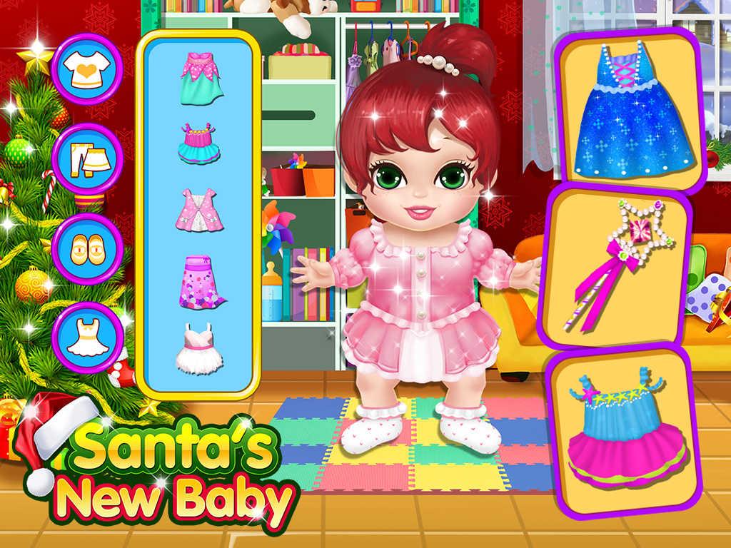 App Shopper My New Baby Little Santa Babies Games